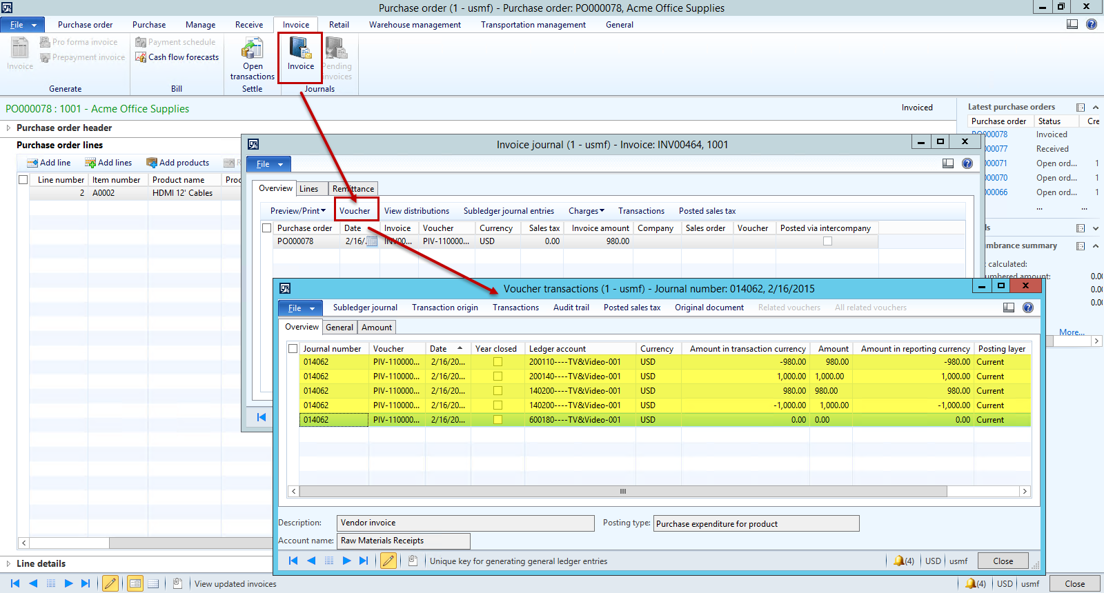 ... Invoice Quanitity Is Less In Dynamics AX Confirmation  Product Invoice