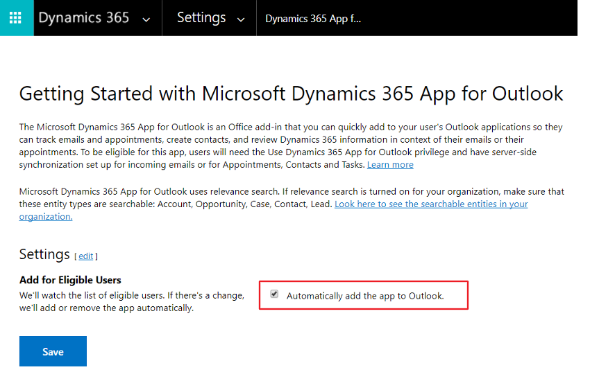 What Is The Dynamics 365 App For Outlook?