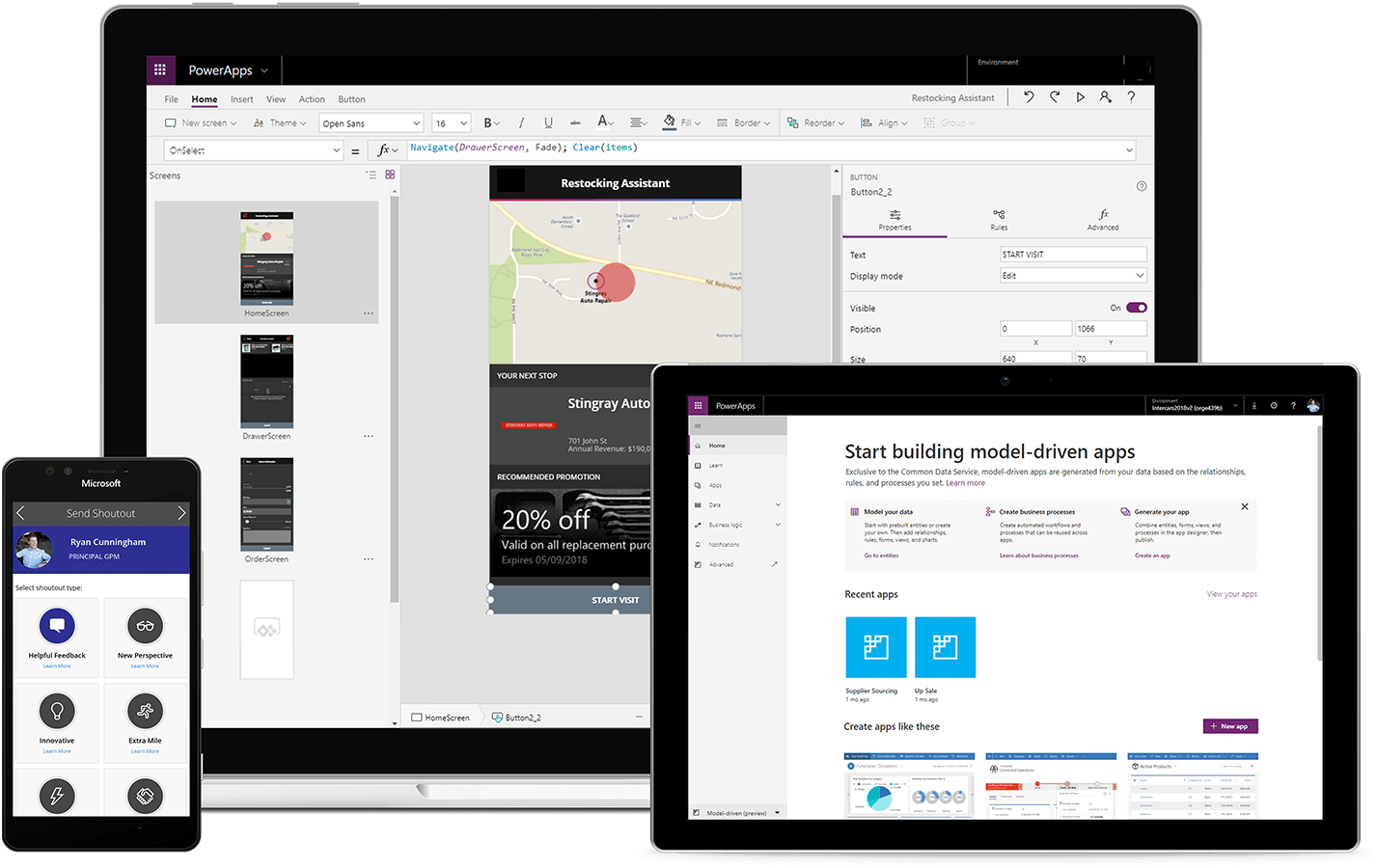 PowerApps and Microsoft Flow | Top Dynamics 365 Gold Partner